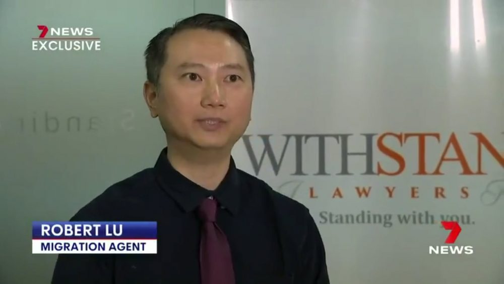Withstand Lawyers on Channel 7 News