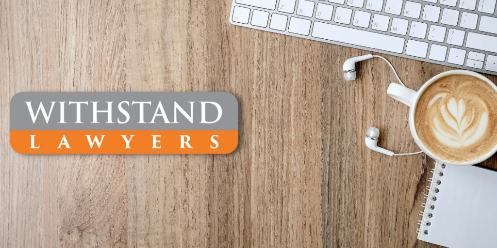 Withstand lawyers career banner